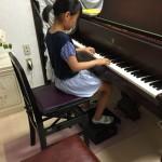 小4のMちゃんのピアノ伴奏