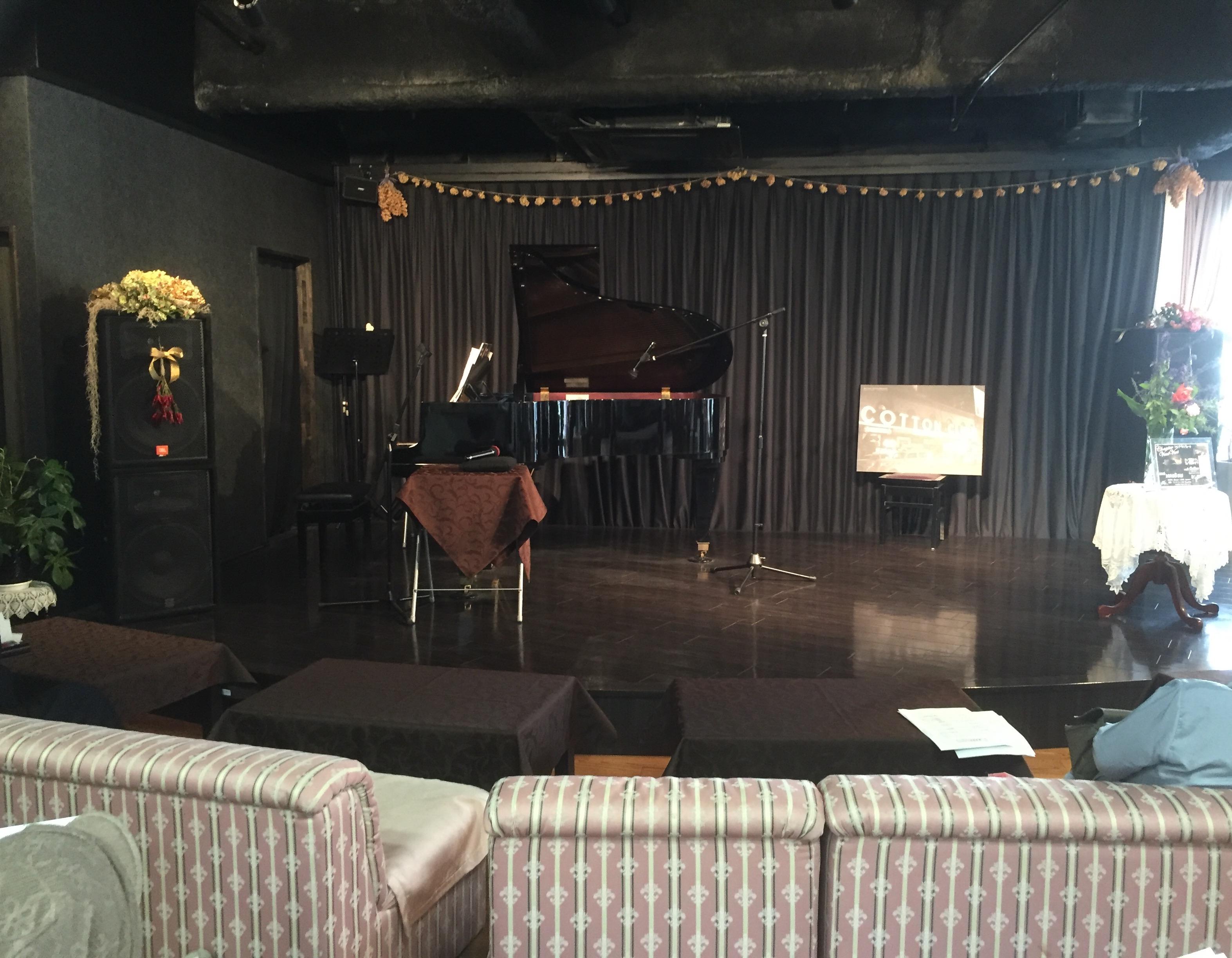 トーク&ピアノ演奏をさせて頂きました
