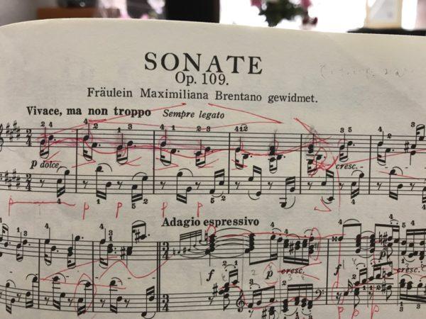 ベートーヴェン ソナタ30番 Op.109