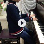 小4のNちゃんの演奏動画