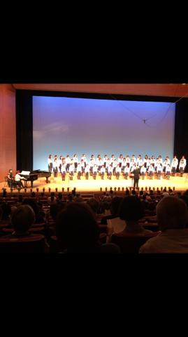 高槻市少年少女合唱団 定期演奏会に行って来ました